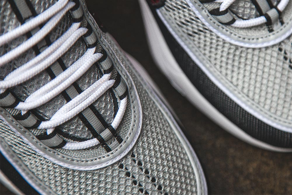 Basket Nike Air Zoom Spiridon OG Black Sport Red (Quickstrike) (7)