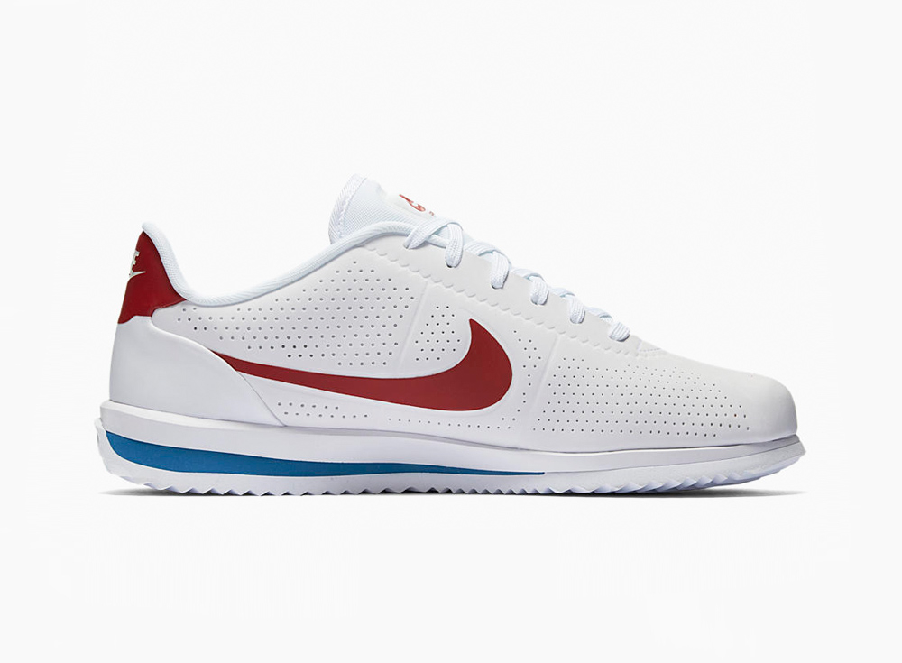 outlet store 36518 0f10a Basket Nike Cortez Ultra Moire White Varsity Red (2)