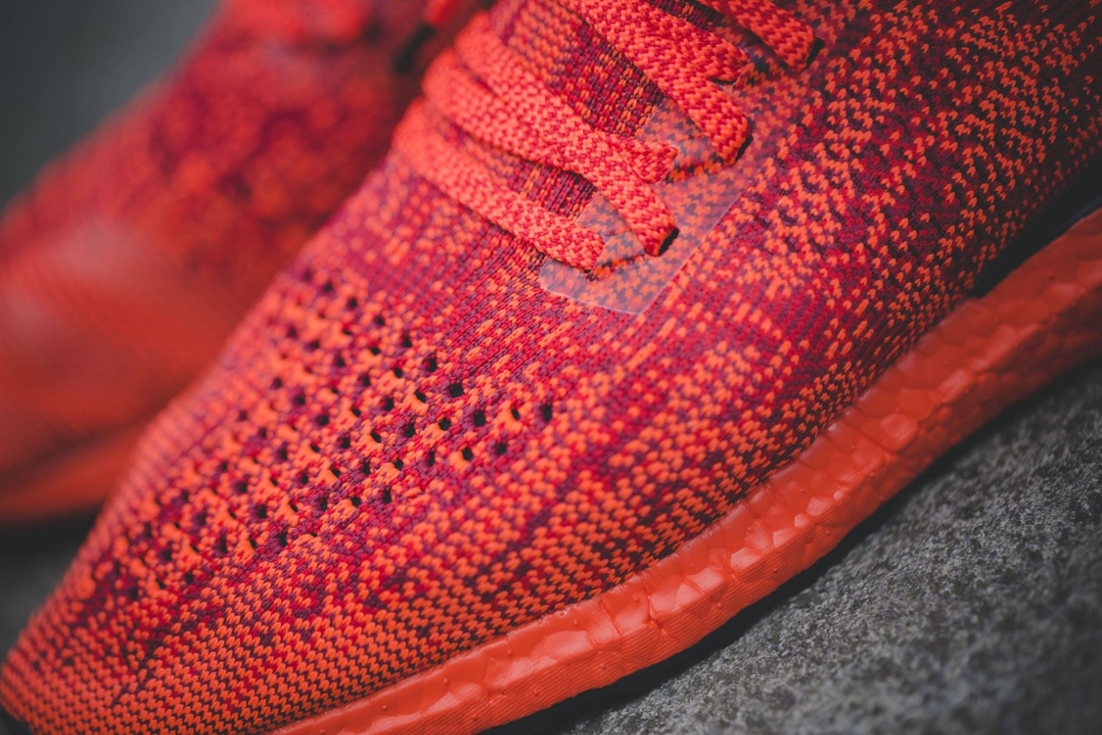 Chaussure Adidas Ultra Boost Uncaged LTD Scarlet Solar Red (rouge) (2)