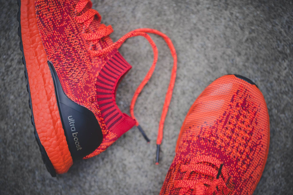 Chaussure Adidas Ultra Boost Uncaged LTD Scarlet Solar Red (rouge) (3)