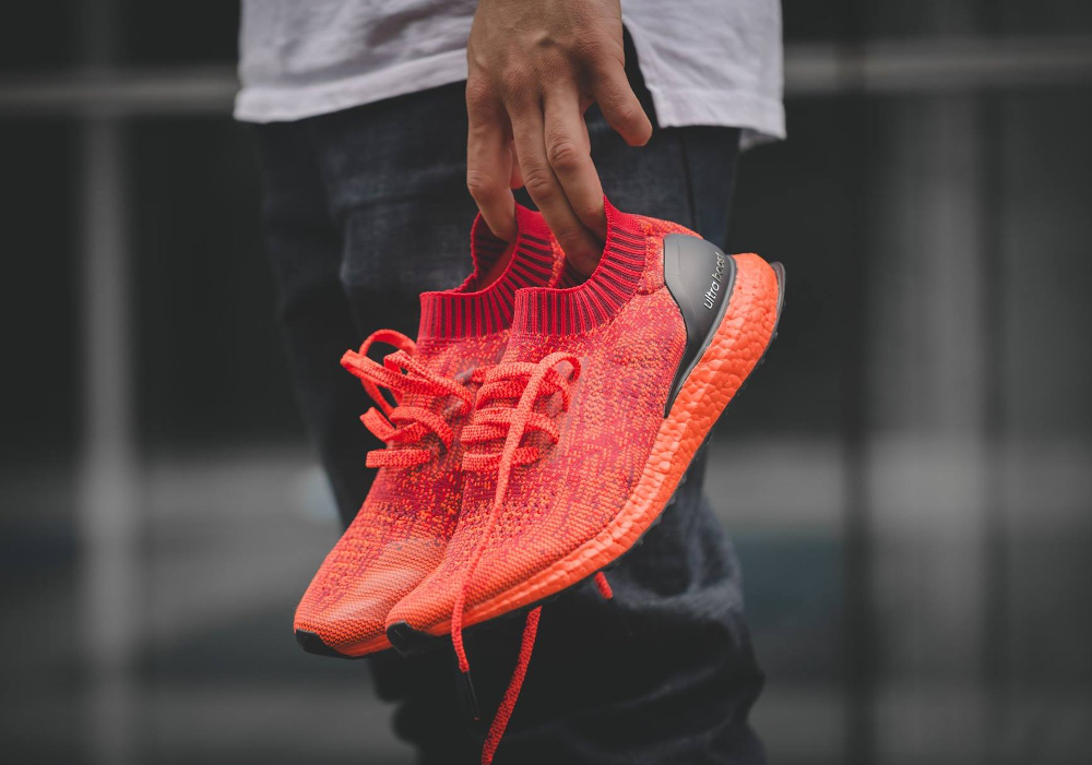 Chaussure Adidas Ultra Boost Uncaged LTD Scarlet Solar Red (rouge) (4)