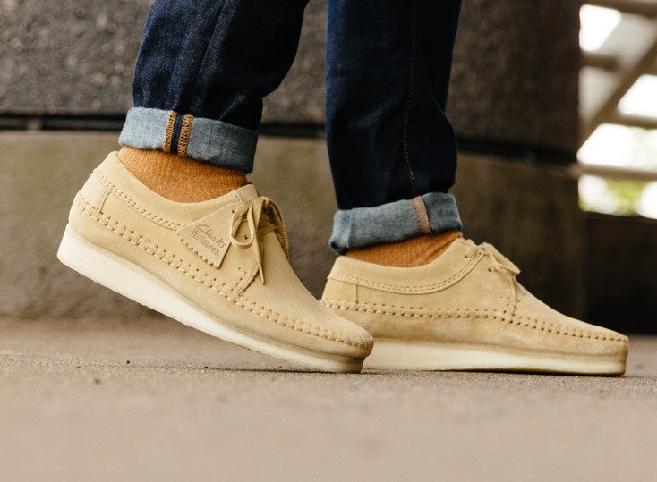 Chaussure Clarks Originals Weaver 'Maple Suede' (1)