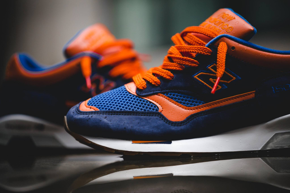 Chaussure New Balance M1500NO Navy Orange (3)