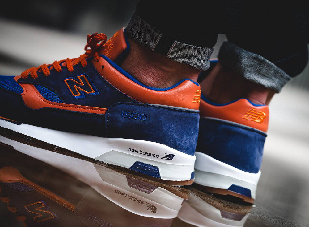 Chaussure New Balance M1500NO Navy Orange (5)
