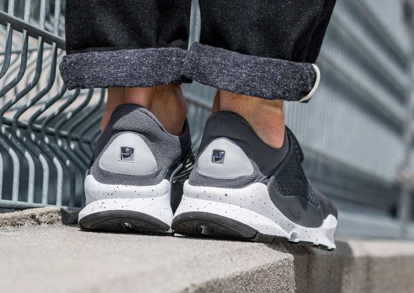 Chaussure Nike Sock Dart SE Wolf Grey Pink Blast (1)