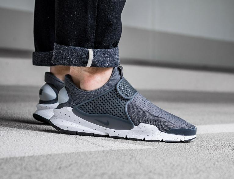 Chaussure Nike Sock Dart SE Wolf Grey Pink Blast
