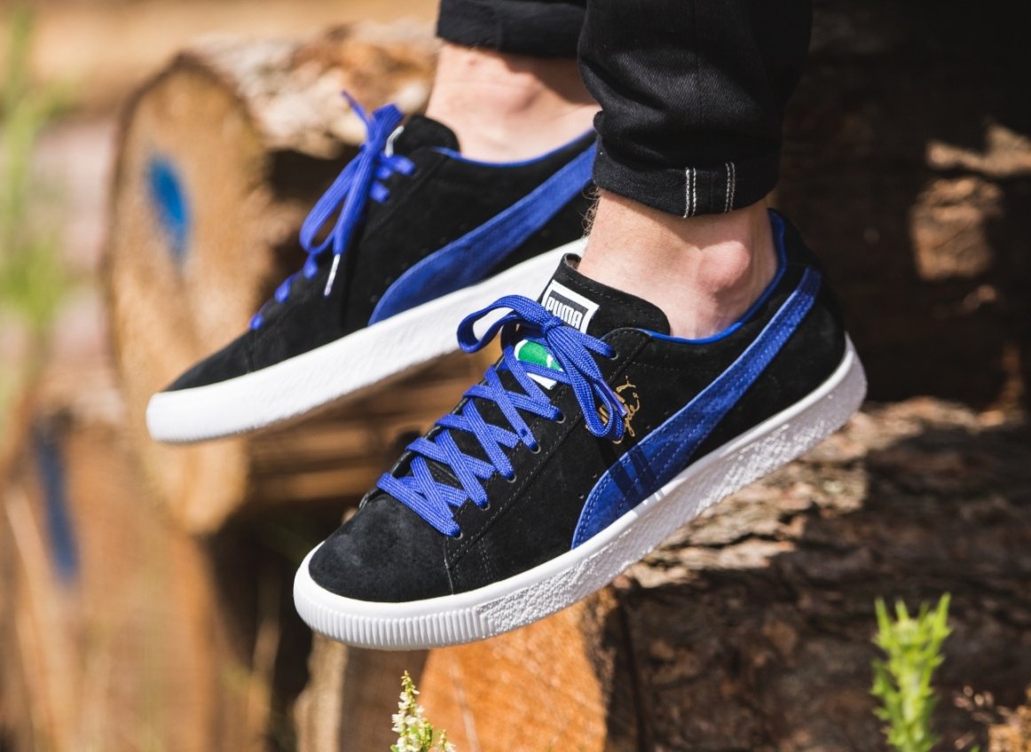 Chaussure Puma Clyde OG Flag Electric Blue (1-1)
