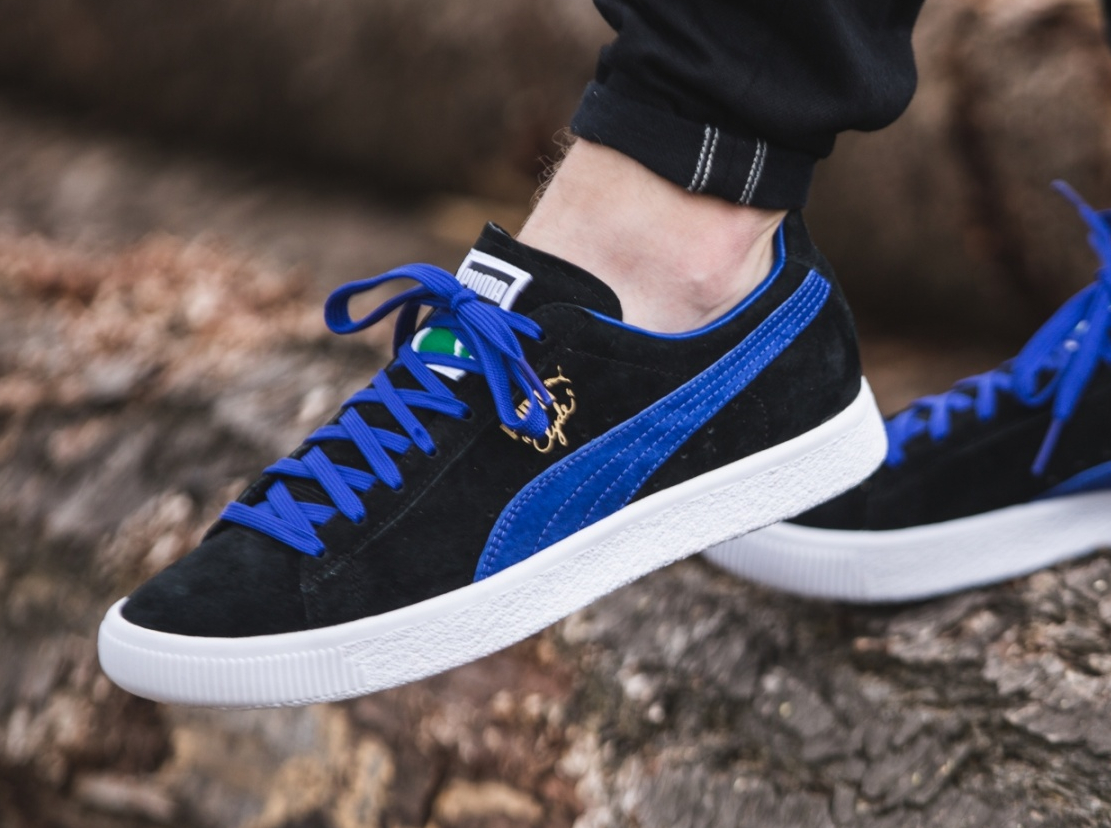 Chaussure Puma Clyde OG Flag Electric Blue (2-1)