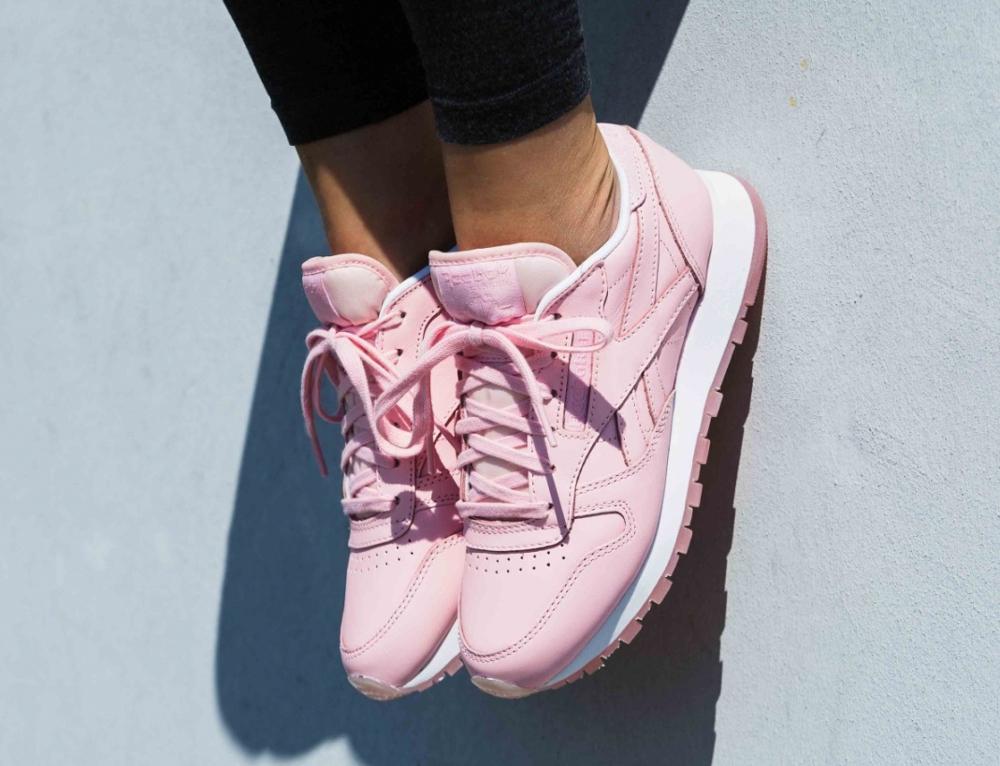 Face Stockholm x Reebok Club C 85 Genuis Pink Rose (femme) (3)