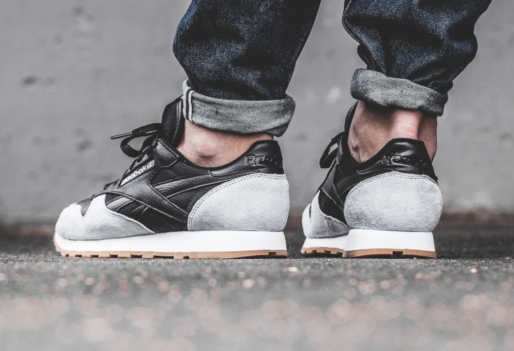 Kendrick Lamar x Reebok Classic Leather 'Perfect Split' Black Cloud Grey Gum (2)