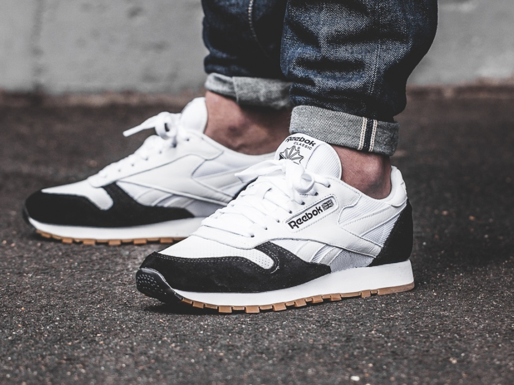 Kendrick Lamar x Reebok Classic Leather 'Perfect Split' Black White Gum (1)