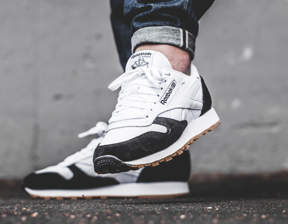 Kendrick Lamar x Reebok Classic Leather 'Perfect Split' Black White Gum (2)