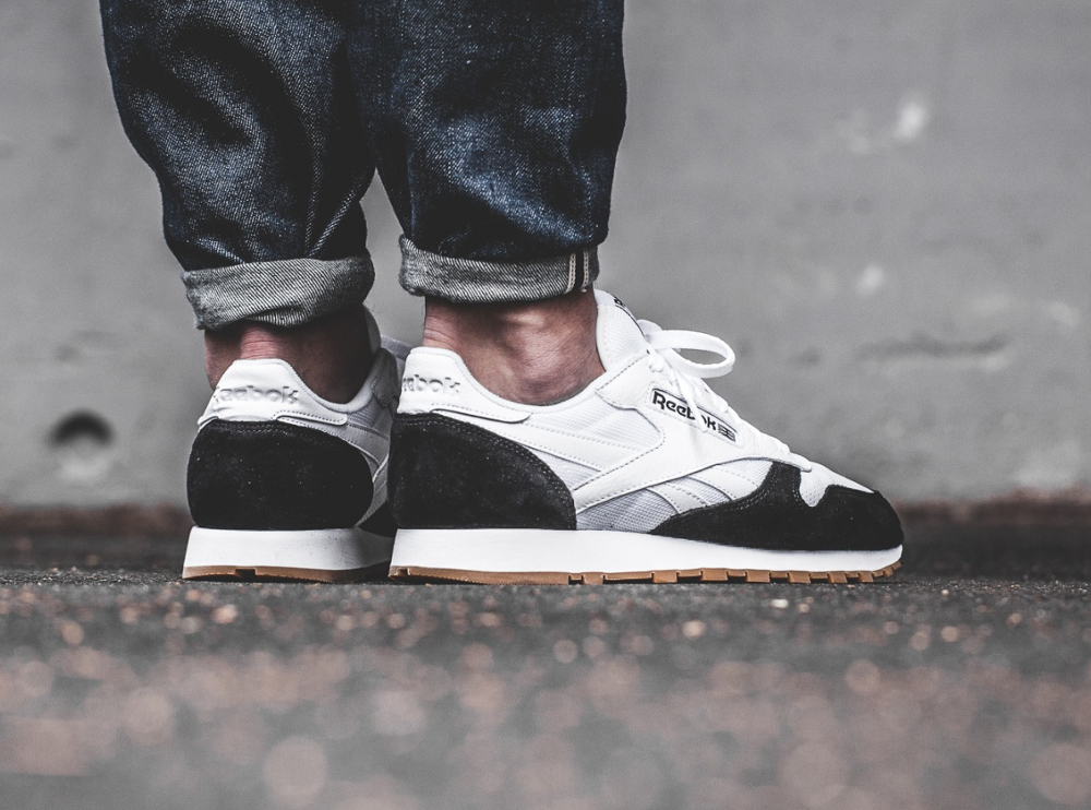 Kendrick Lamar x Reebok Classic Leather 'Perfect Split' Black White Gum (3)