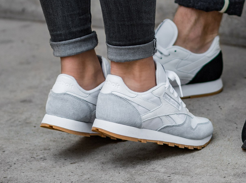 Kendrick Lamar x Reebok Classic Leather W 'Perfect Split' White Cloud Grey Gum (femme) (3)