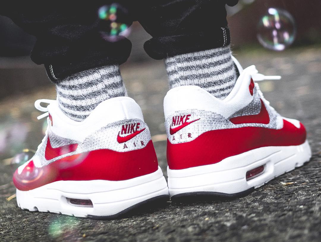 Nike Air Max 1 Ultra Flyknit OG Sport Red - @lucasblackman (2)