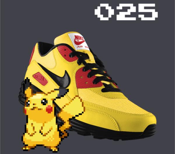 Pokemon GO x Nike ID : 10 modèles à l'effigie des monstres du jeu à succès