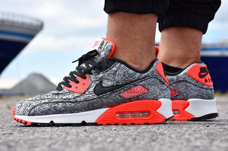 Nike Air Max 90 Paisley Infrared - @jf_the_shining