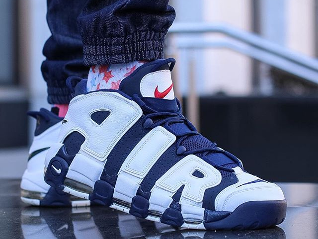 Nike Air More Uptempo 'Olympic Rio 2016' Scottie Pippen - @philly_com