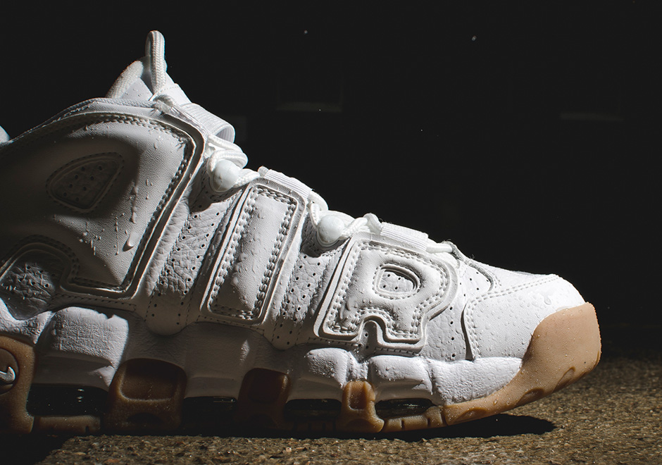 Nike Air More Uptempo 'White Gum'