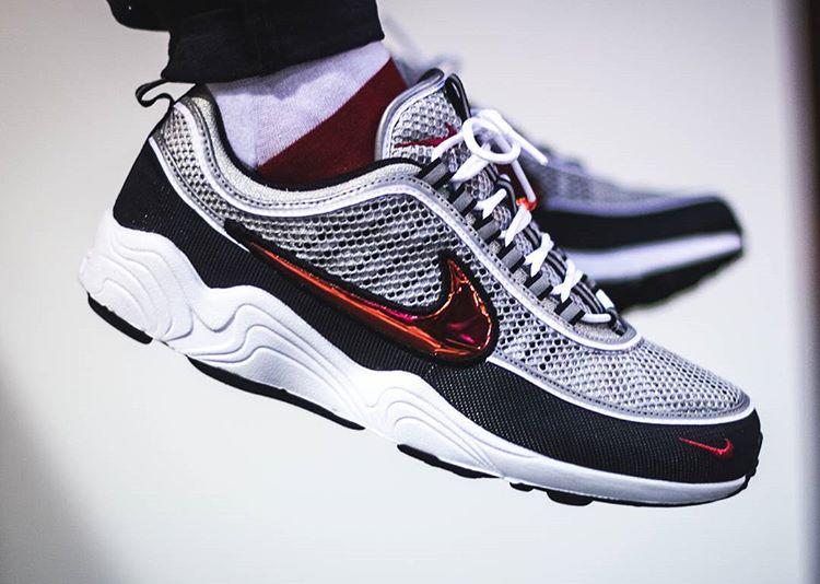 acheter chaussure NikeLab Air Zoom Spiridon OG 'Black Sport Red' QS (1)