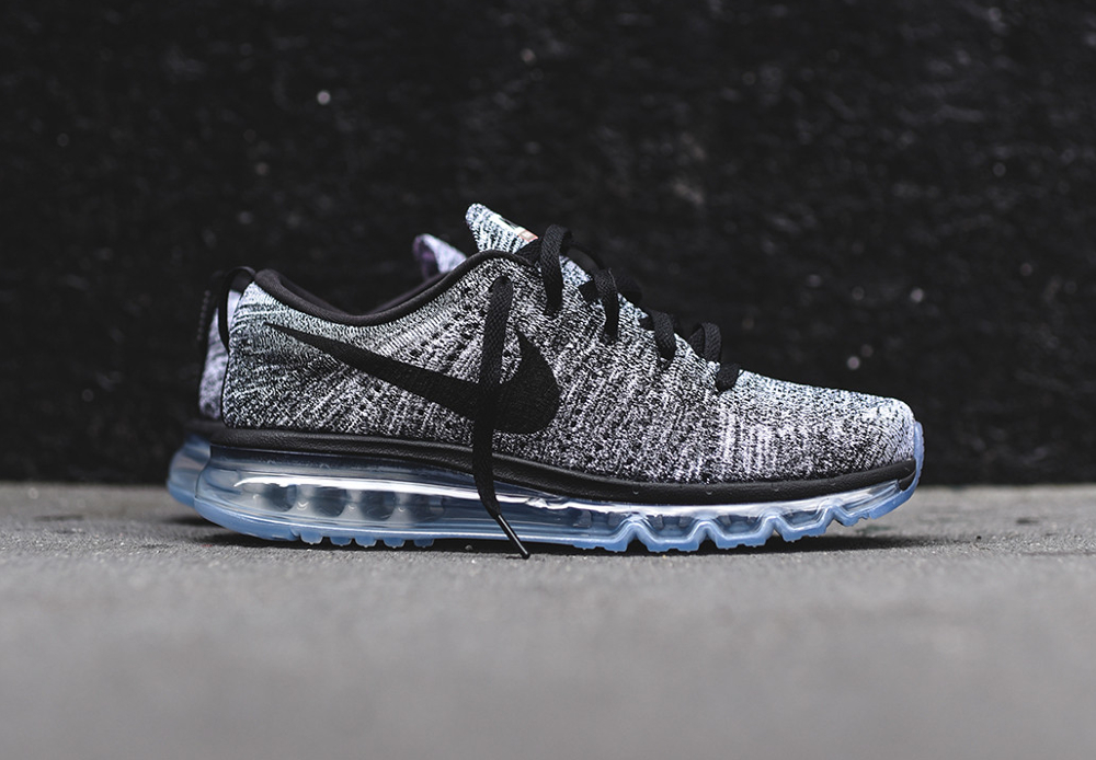 premium selection 23762 b7bfa Nike Flyknit Air Max 'Oreo' Black White 2016 (homme)
