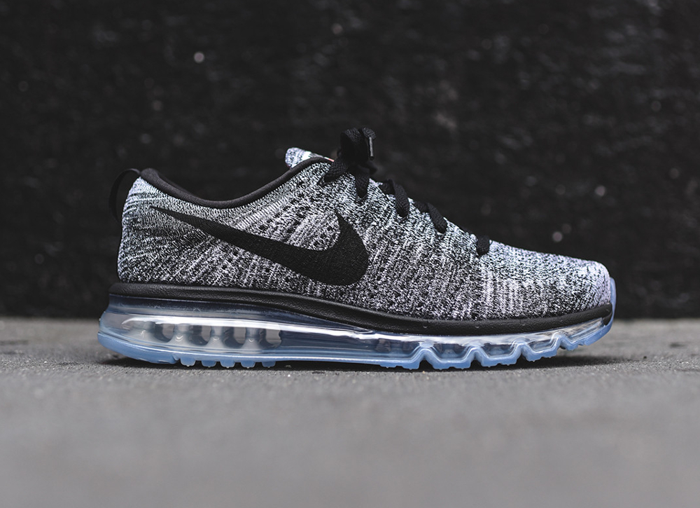 Nike Flyknit Air Max Oreo blanche et noire (2)