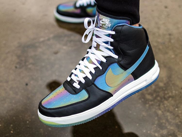 Nike Lunar Force 1 High ID Iridescent - @tristanbanning