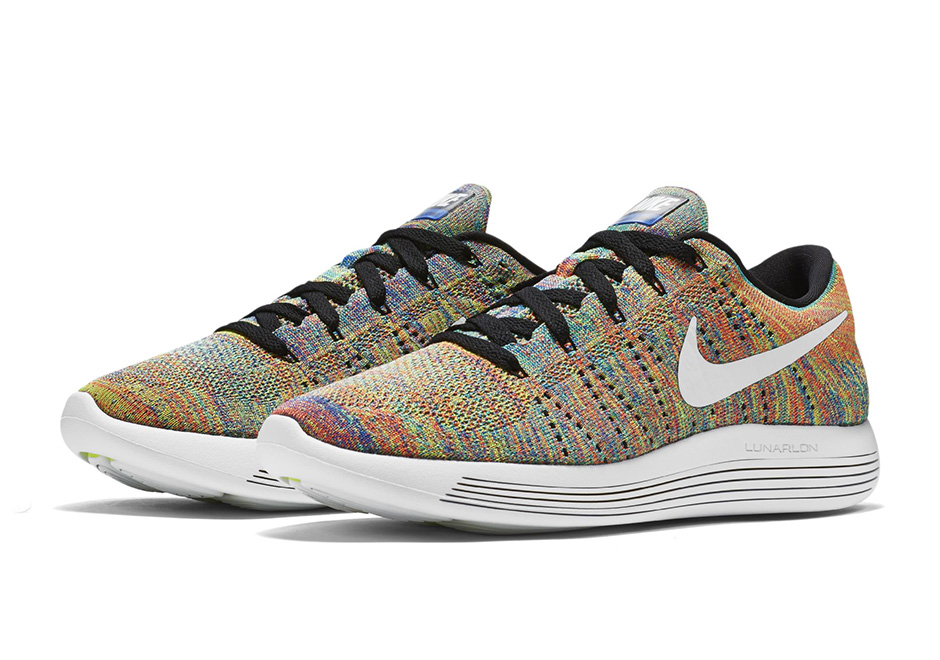 Nike Lunarepic Flyknit Low Multicolor (1)