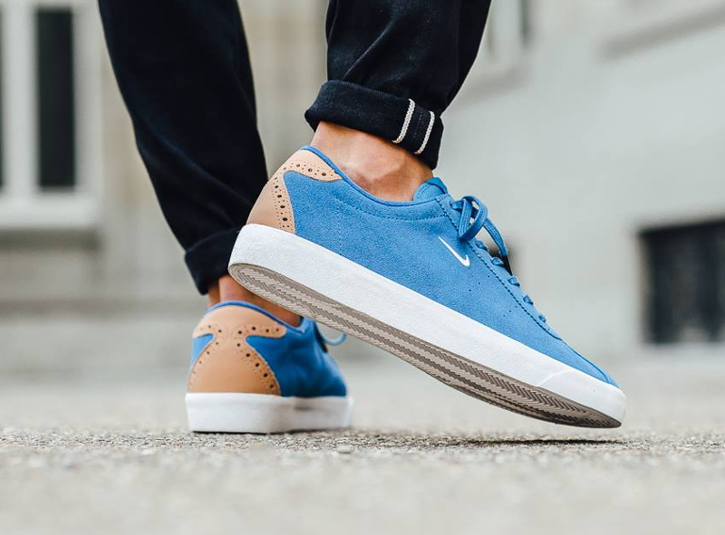 Nike Match Classic Suede PRM Brogue Star Blue Vachetta Tan (1)