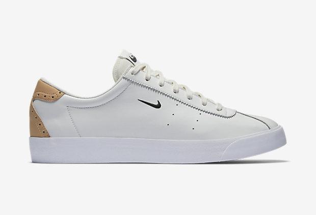 Nike Match Classic Suede White Vachetta Tan (2)