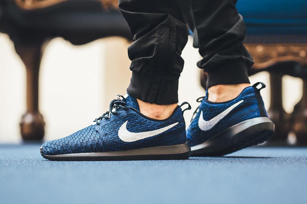 Nike Roshe Flyknit NM Racer Blue (1)
