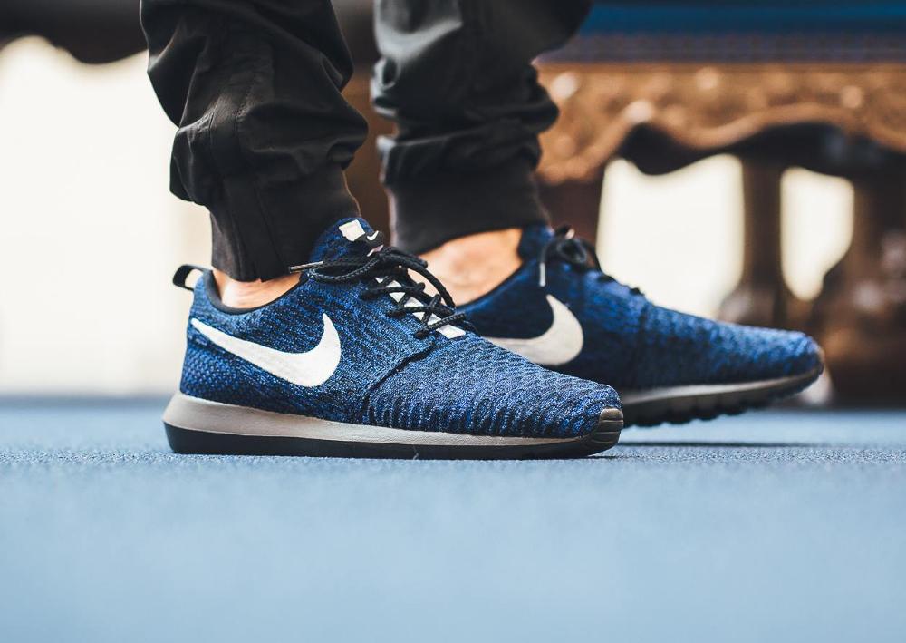 Nike Roshe Flyknit NM Racer Blue (2)