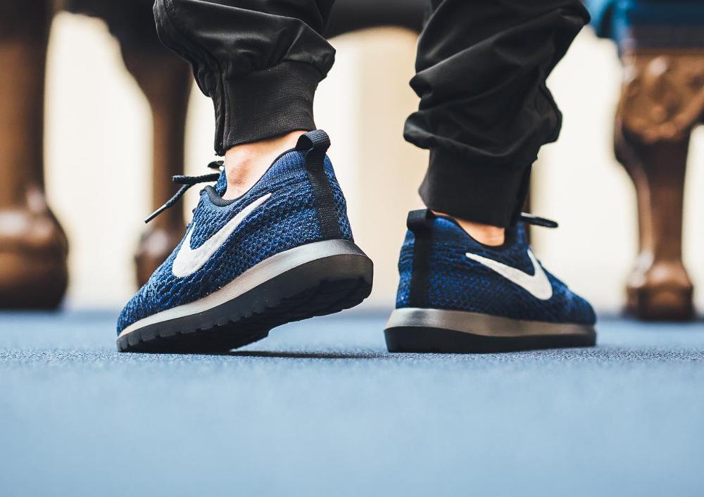 Nike Roshe Flyknit NM Racer Blue (3)