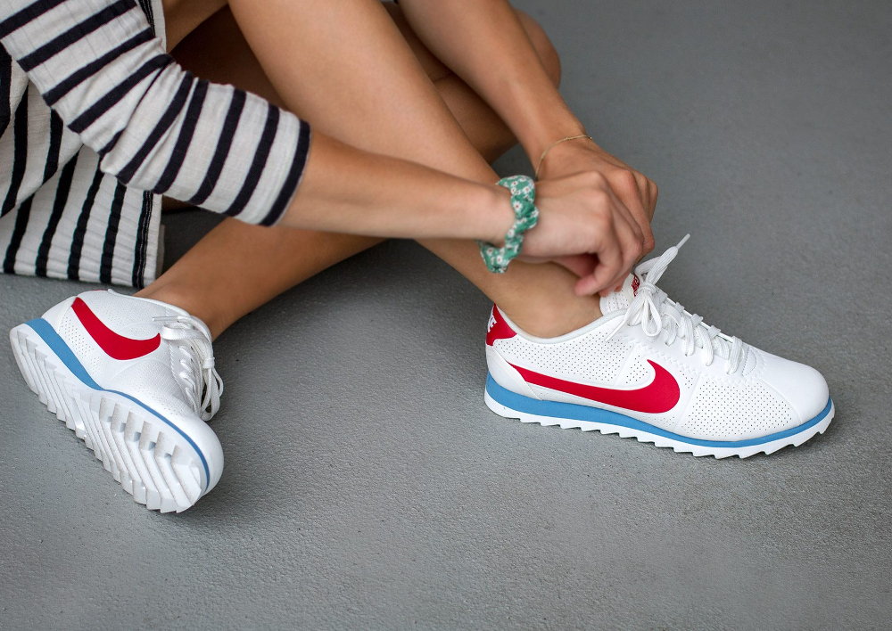 nike cortez ultra moire or