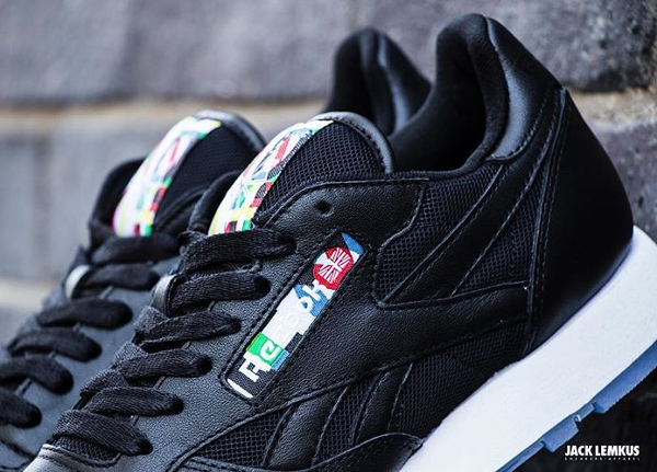 Reebok Classic Leather BF Black Ice (2)