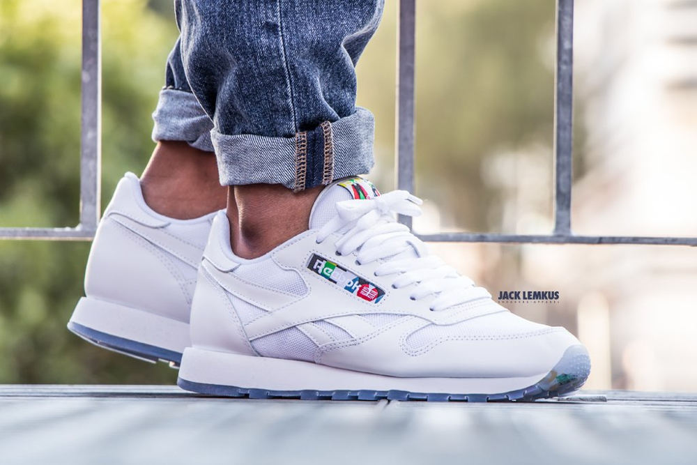 acheter chaussure Reebok Classic Leather BF White Ice (blanche)