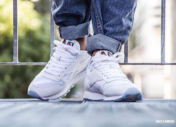 Reebok Classic Leather BF White Ice (2)