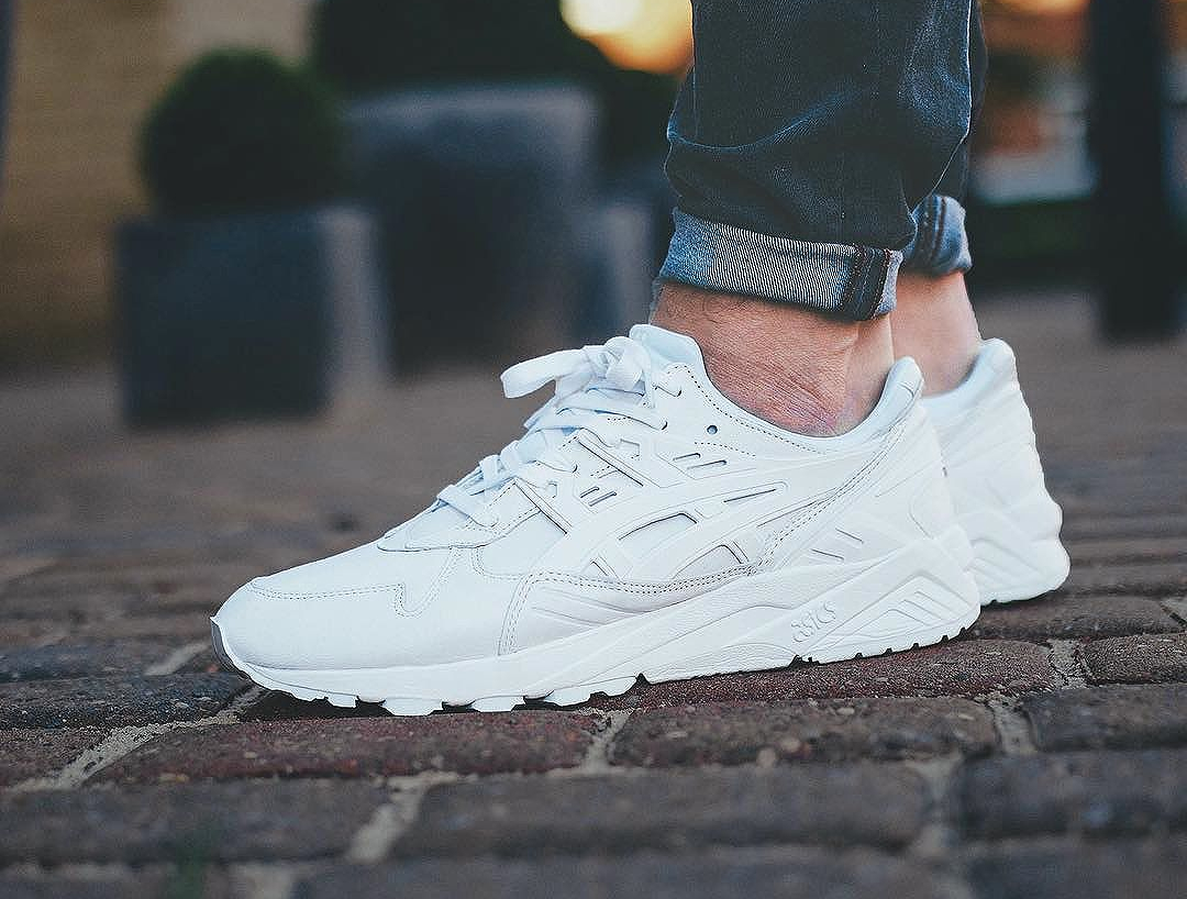 Size x Asics Gel Kayano Trainer PRM Italian Leather White (1)