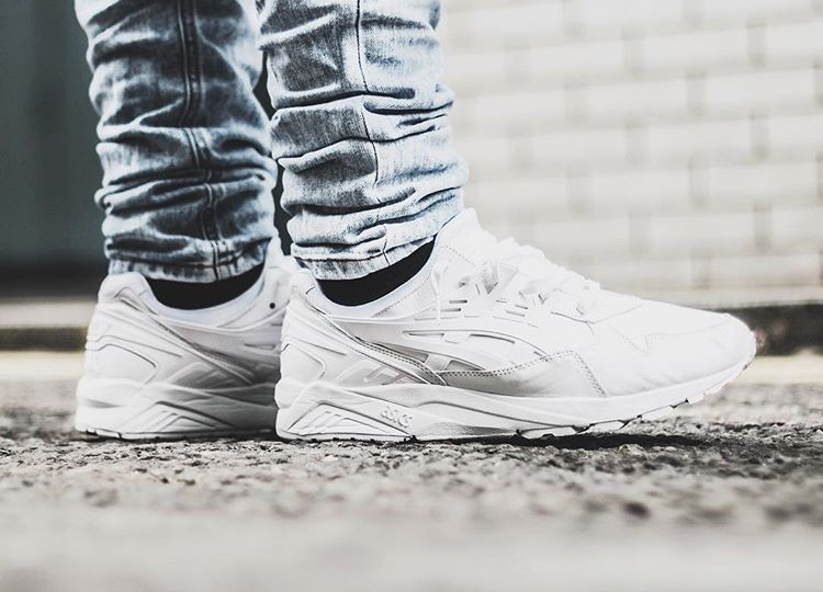 Size x Asics Gel Kayano Trainer PRM Italian Leather White - @vivianfrank