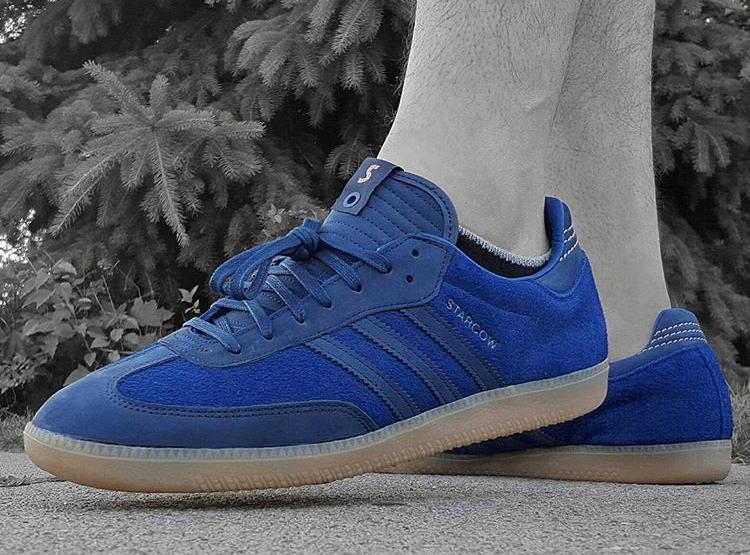 Starcow x Adidas Consortium Samba - @laced_heat