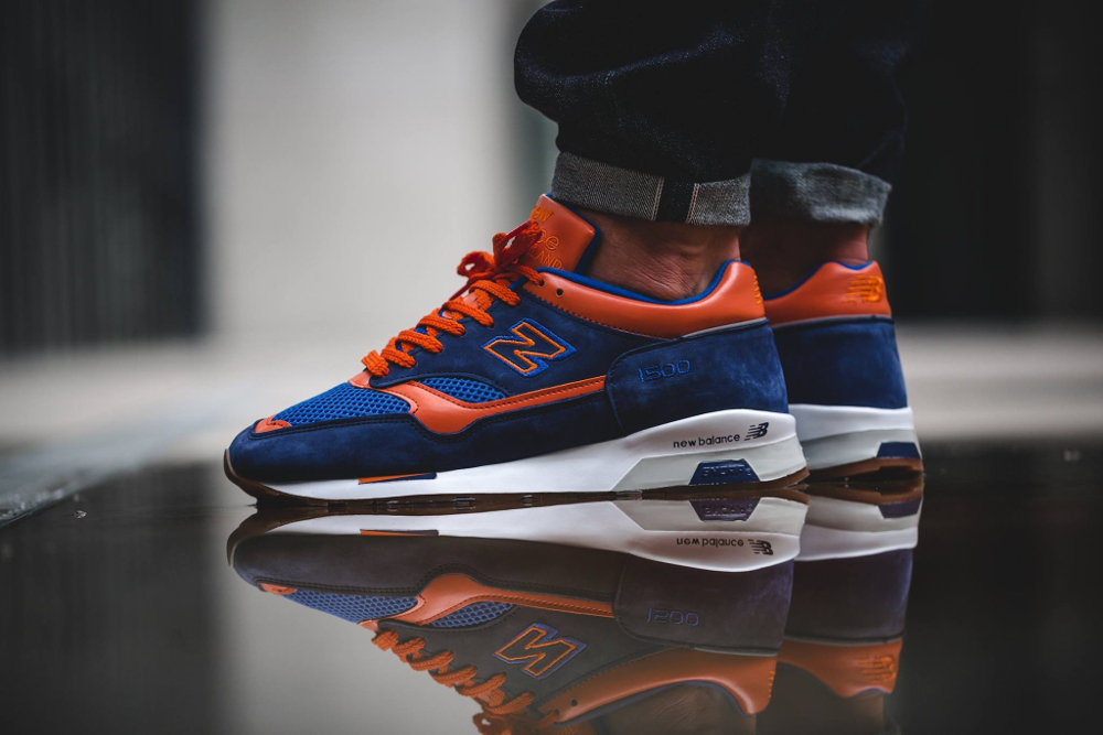 acheter Chaussure New Balance M1500NO Navy Orange Retro 2016