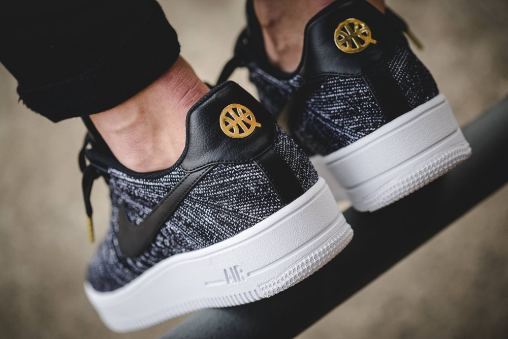 check out 98a9c 5e8c1 ... acheter nike air force 1 low ultra flyknit black grey qs quai 54 ...