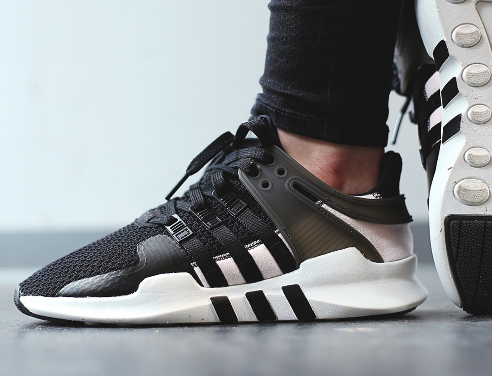 low priced 8fe76 98955 acheter chaussure Adidas Wmns EQT Support ADV 91-16 Black Clear Pink (