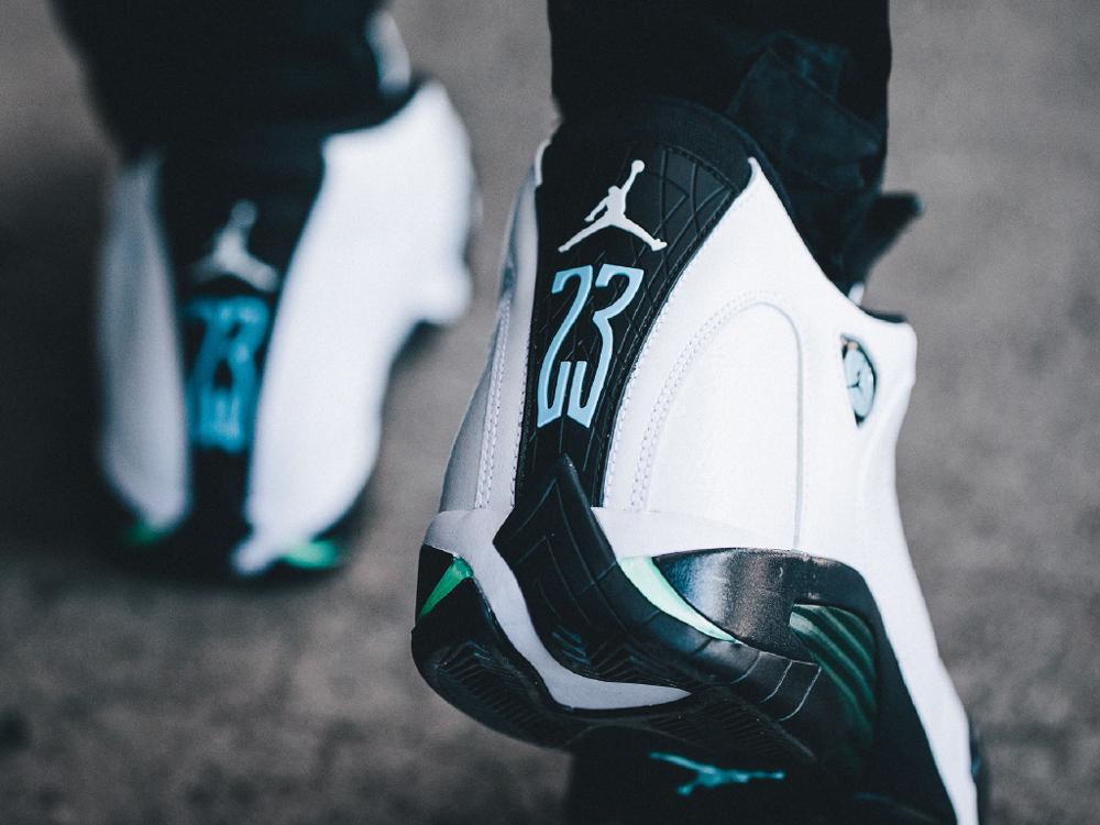 acheter chaussure Air Jordan 14 OG 'Oxidized Green' Retro 2016 (1)