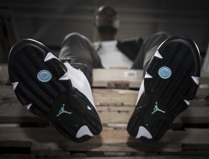 acheter chaussure Air Jordan 14 OG 'Oxidized Green' Retro 2016 (6)