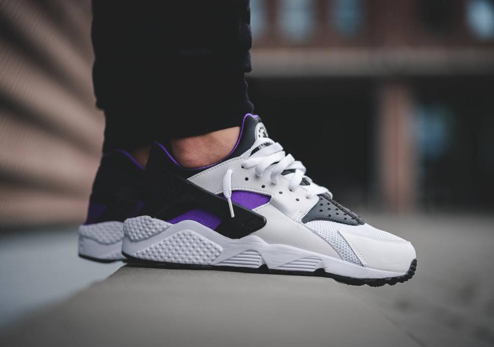 acheter chaussure Nike Air Huarache OG Purple Punch Retro 2016 (1)