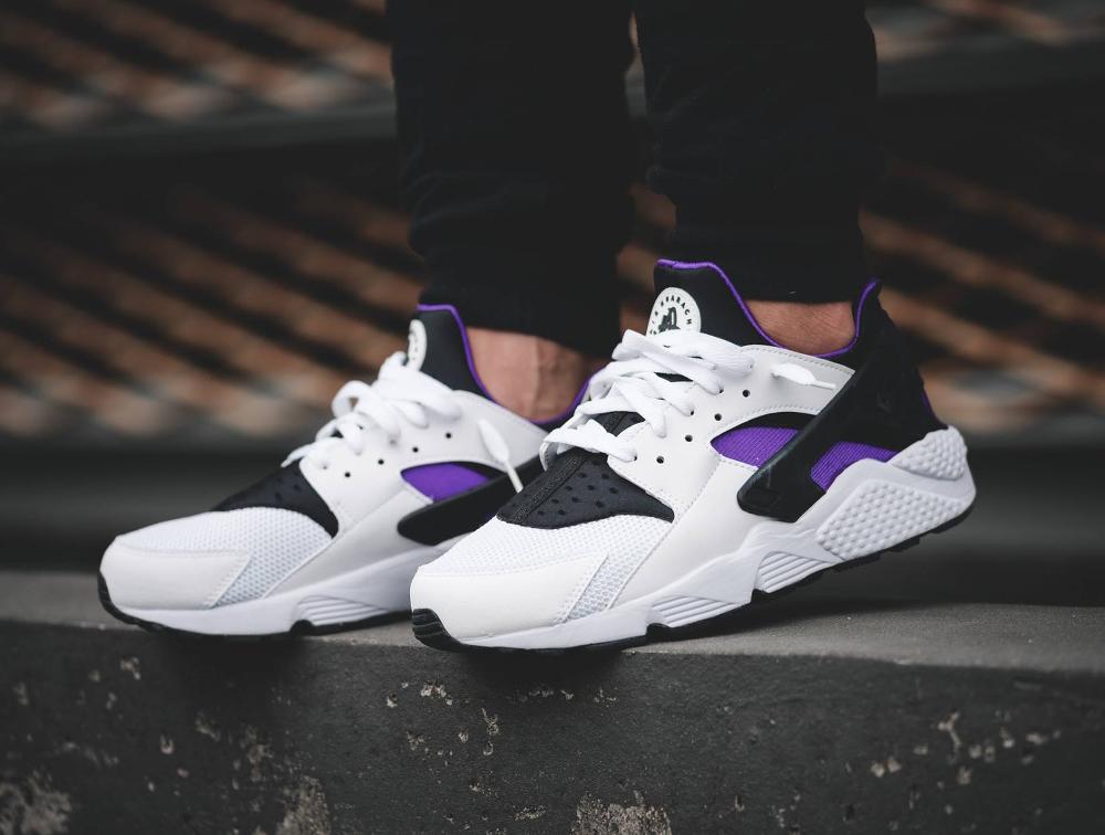 acheter chaussure Nike Air Huarache OG Purple Punch Retro 2016 (3)