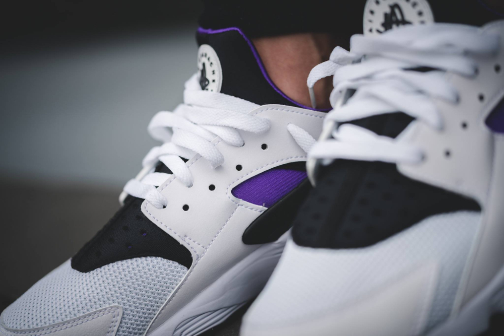 huge selection of 8cd0f ebd54 ... acheter chaussure Nike Air Huarache OG Purple Punch Retro 2016 (4) ...