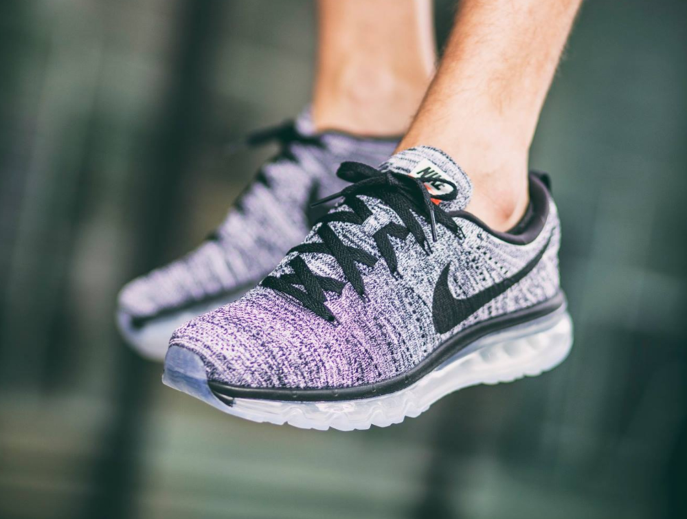 Nike Flyknit Air Max 'Oreo' Black White 2016 (homme)