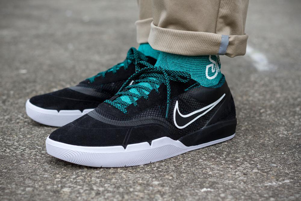 acheter chaussure Nike SB Eric Koston 3 Hyperfeel Flyknit 'Black Rio Teal' (1)